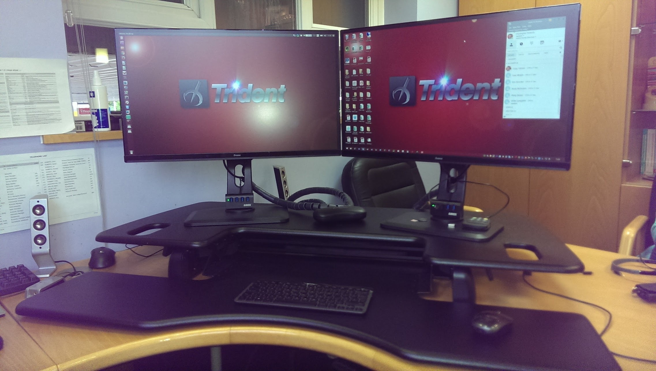 Varidesk Pro Plus After a month of using my Varidesk I am very happy with it. I would love to  be able to report a stunning transformation of my painful back, ...